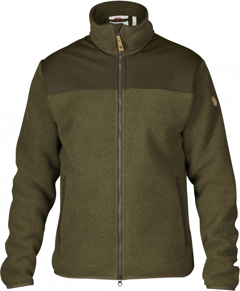 FjallRaven Forest Fleece Jacket Tarmac-30