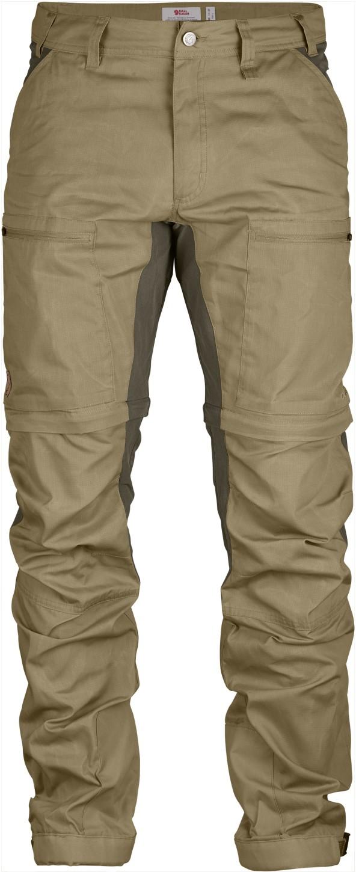 FjallRaven Abisko Lite Trekking Zip-Off Trousers Sand-Tarmac-30