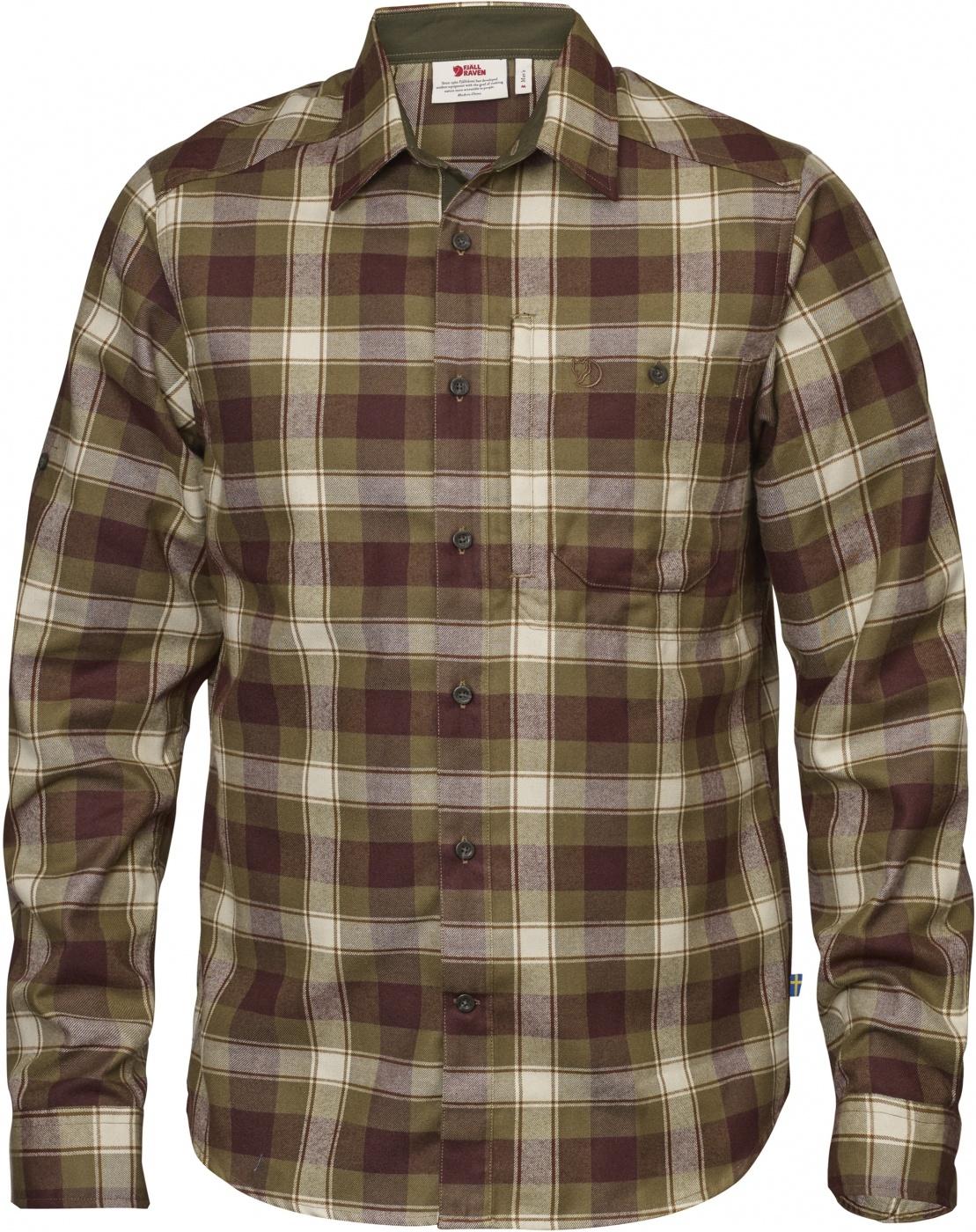 FjallRaven Fjällglim Shirt Khaki-30