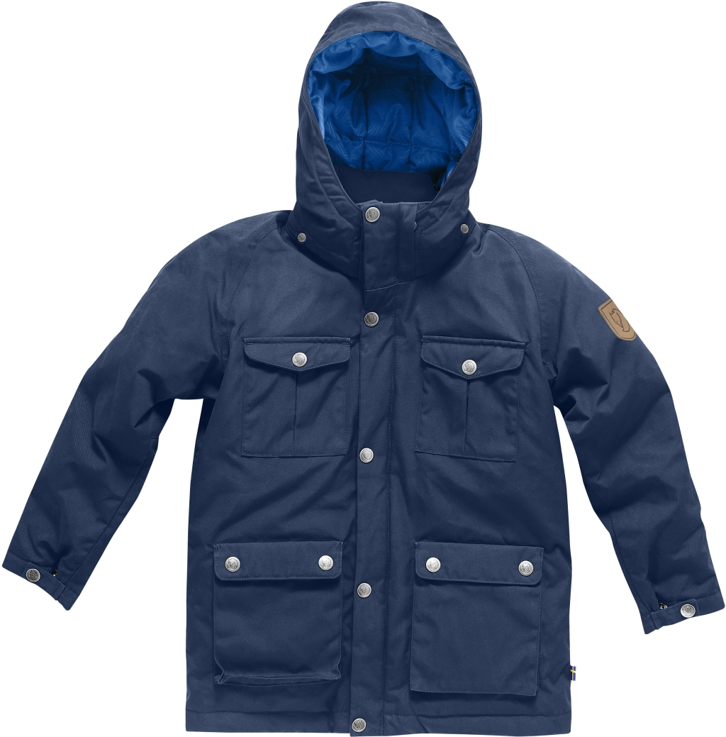 FjallRaven Kids Greenland Down Parka Blueberry-30
