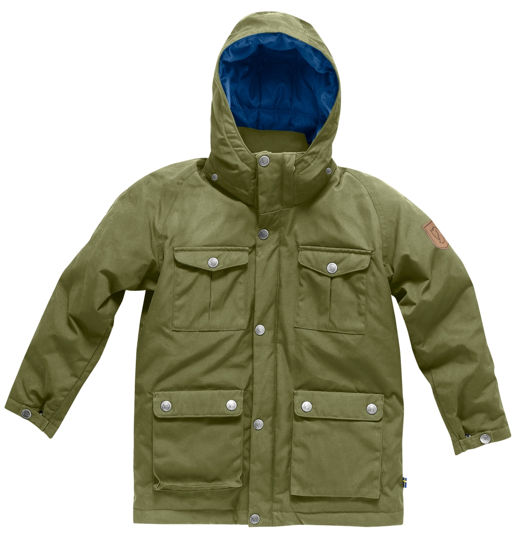 FjallRaven Kids Greenland Down Parka Green-30