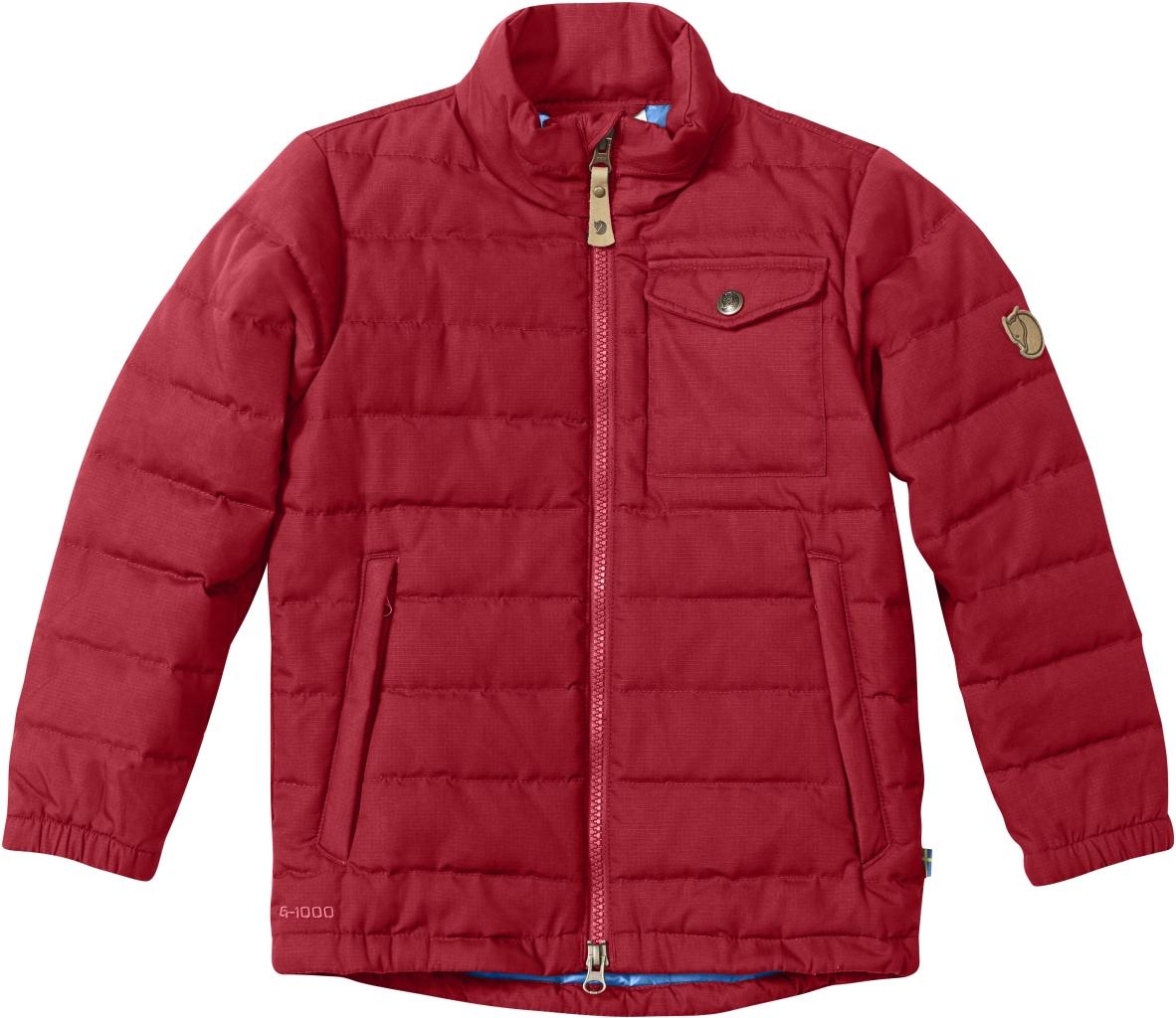 FjallRaven Kids Ovik Lite Jacket Deep Red-30