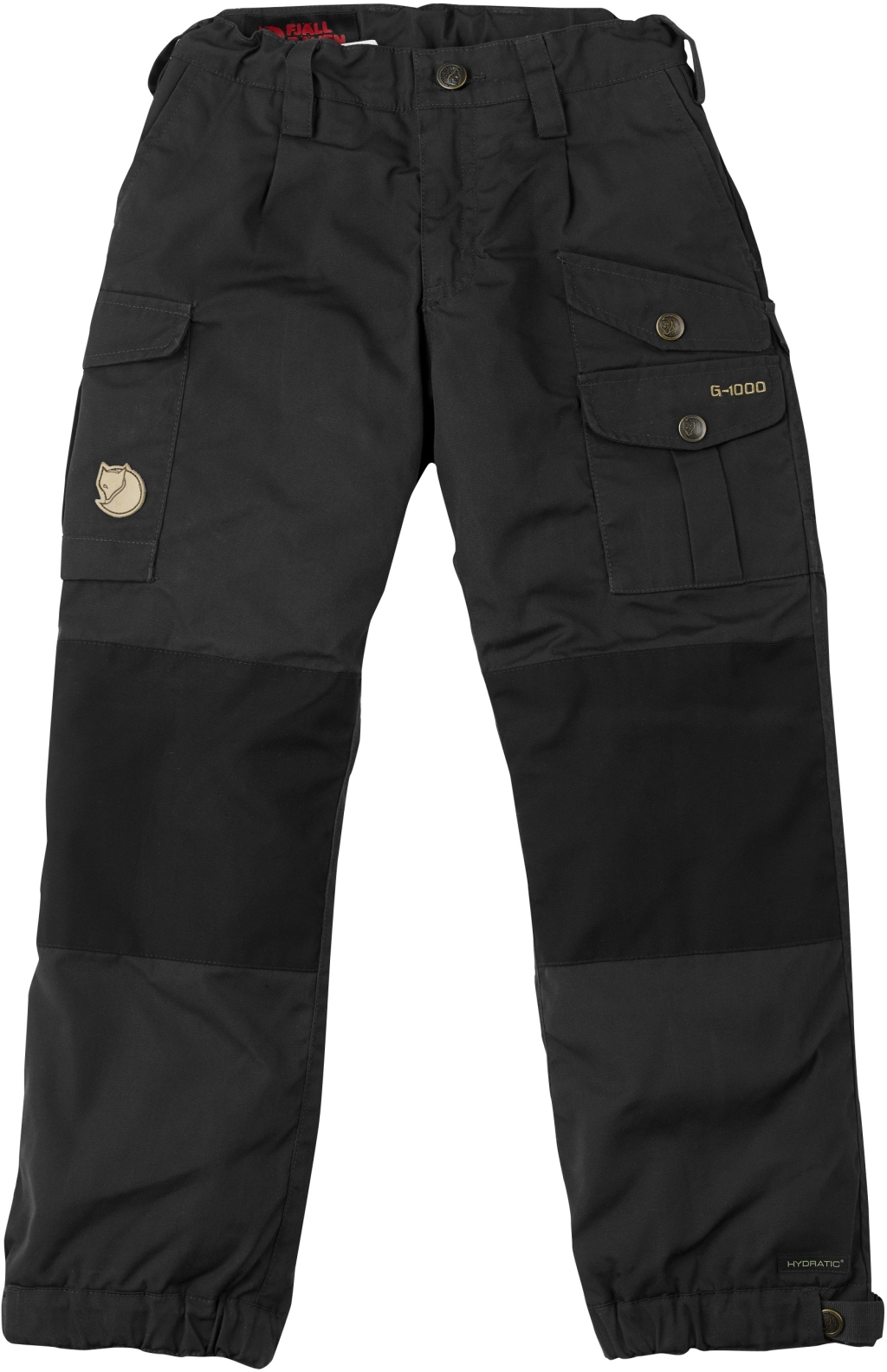 FjallRaven Kids Vidda Padded Trousers Dark Grey-30