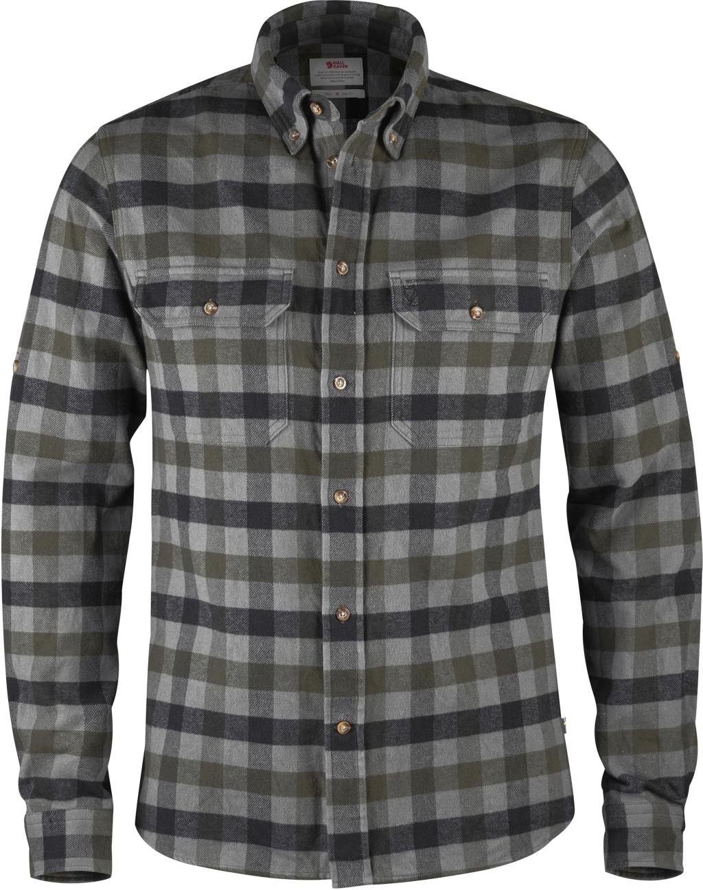 FjallRaven Skog Shirt Black-30
