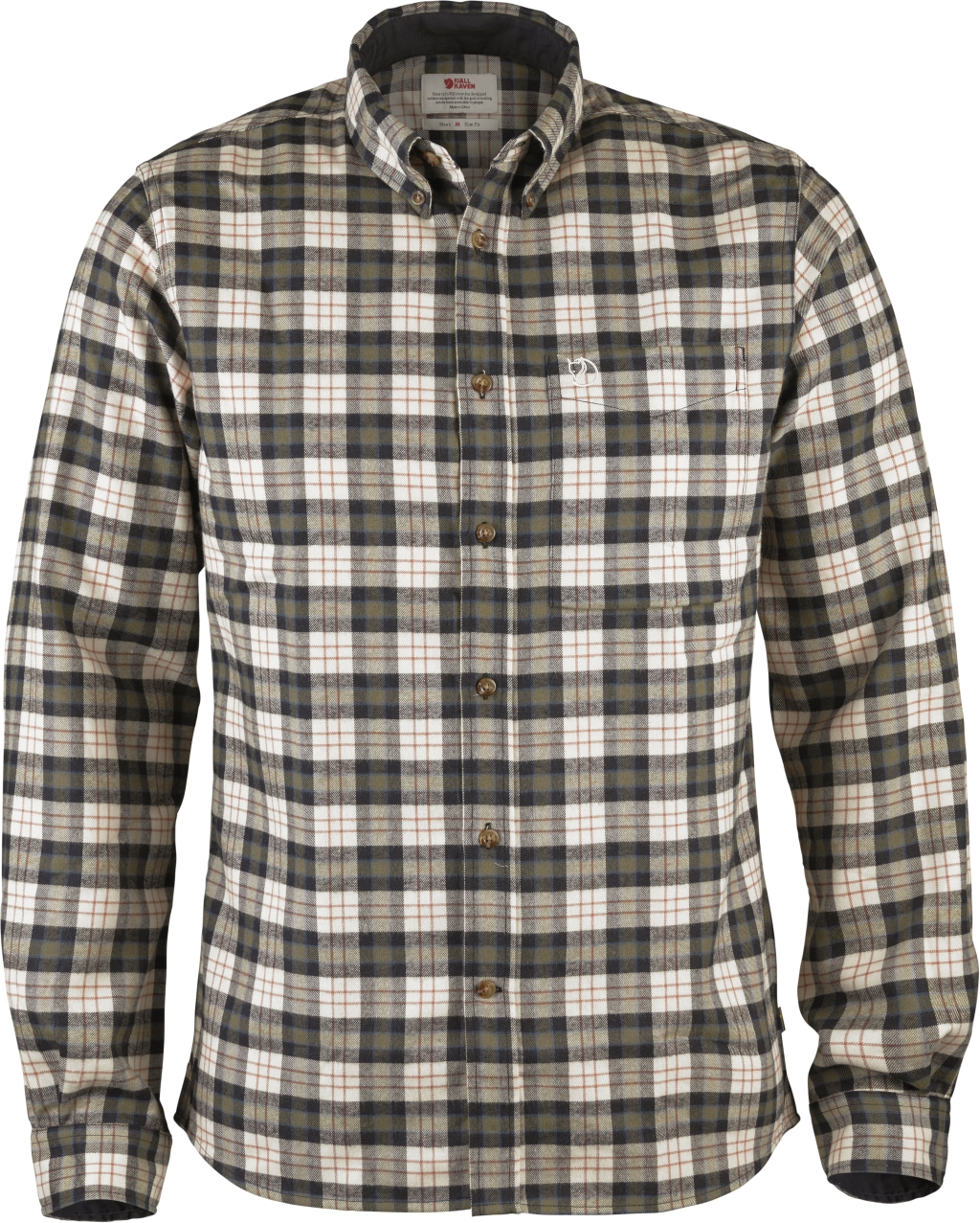 FjallRaven Stig Flannel Shirt Chalk White-30