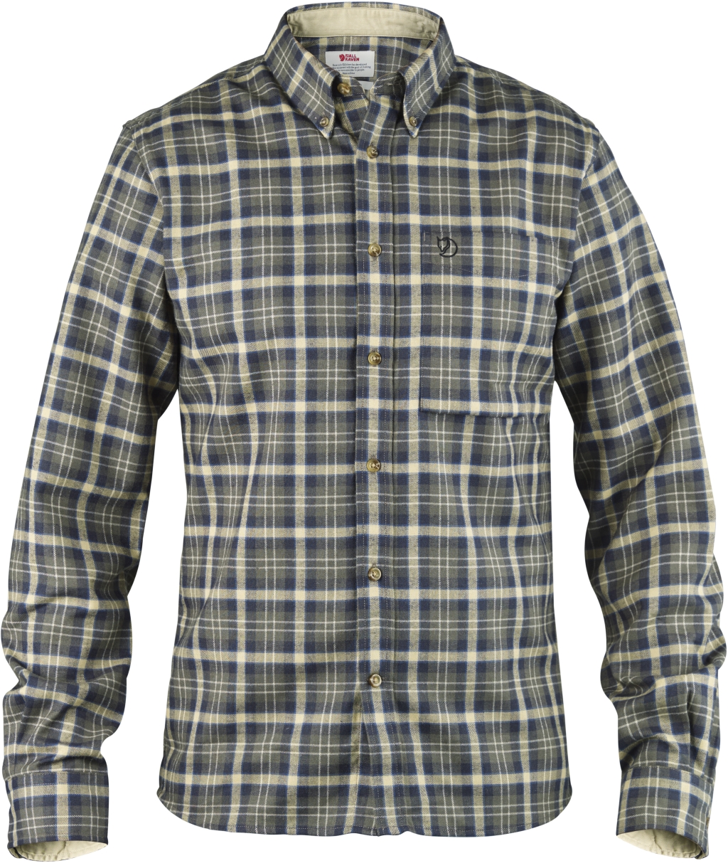 FjallRaven Stig Flannel Shirt Black-30