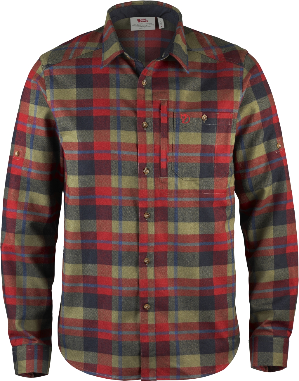 FjallRaven Fjallglim Shirt Deep Red-30