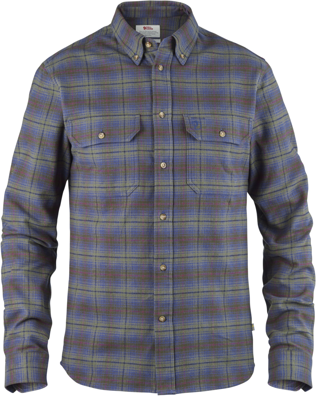 FjallRaven Skog Shirt Uncle Blue-30