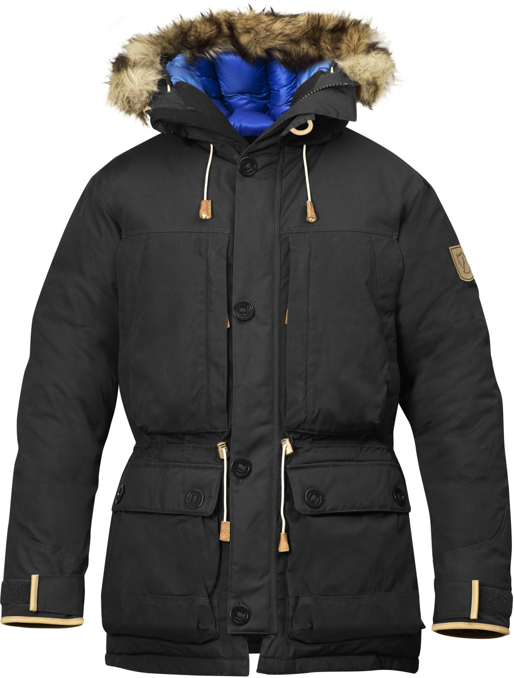 FjallRaven Expedition Down Parka No.1 Dark Grey-30