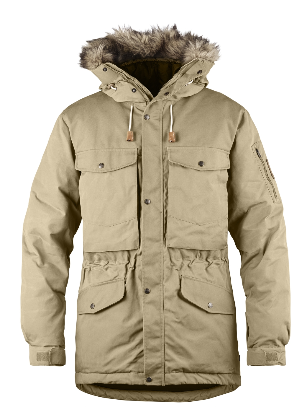 FjallRaven Singi Down Jacket Sand-30