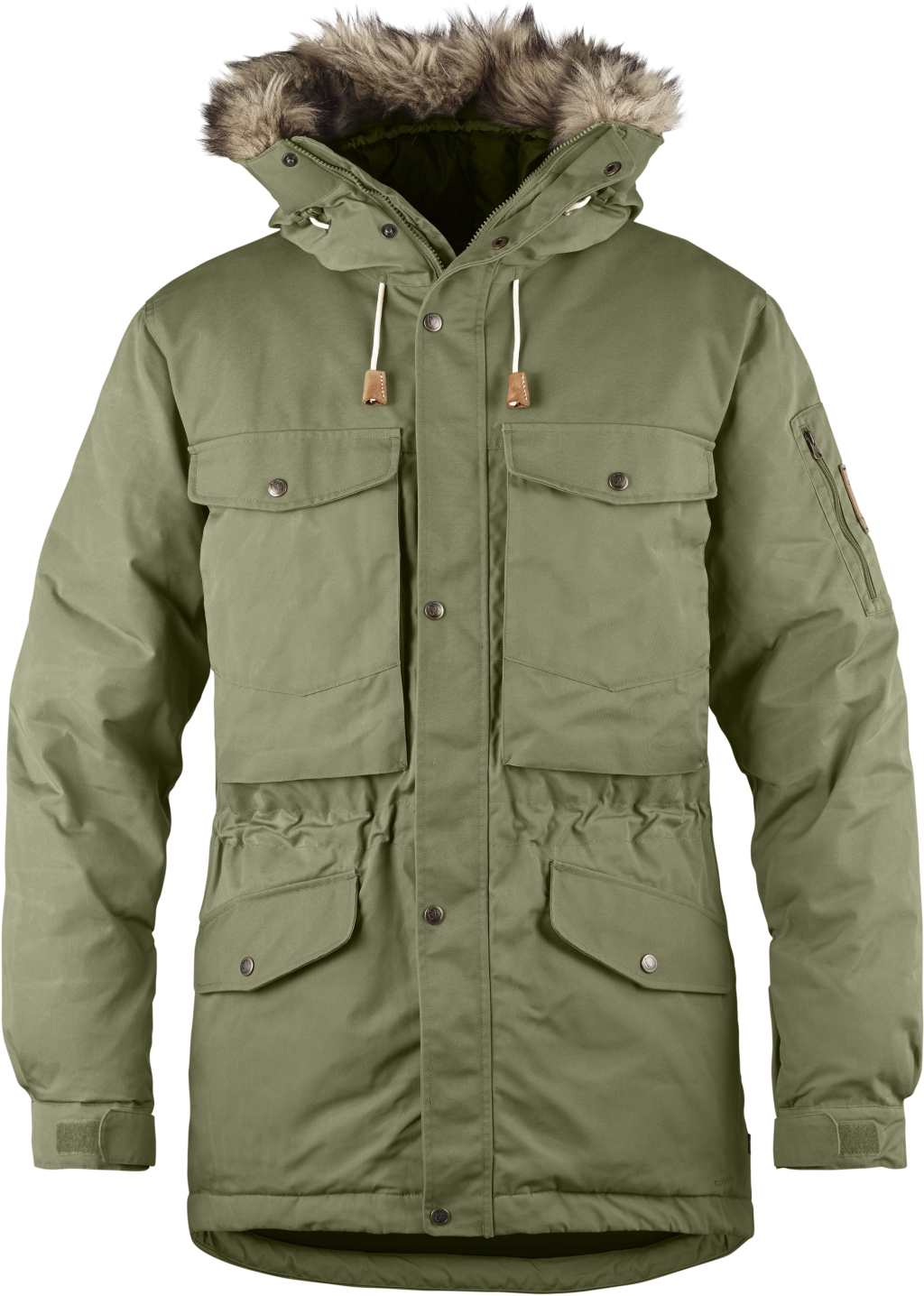 FjallRaven Singi Down Jacket Green-30