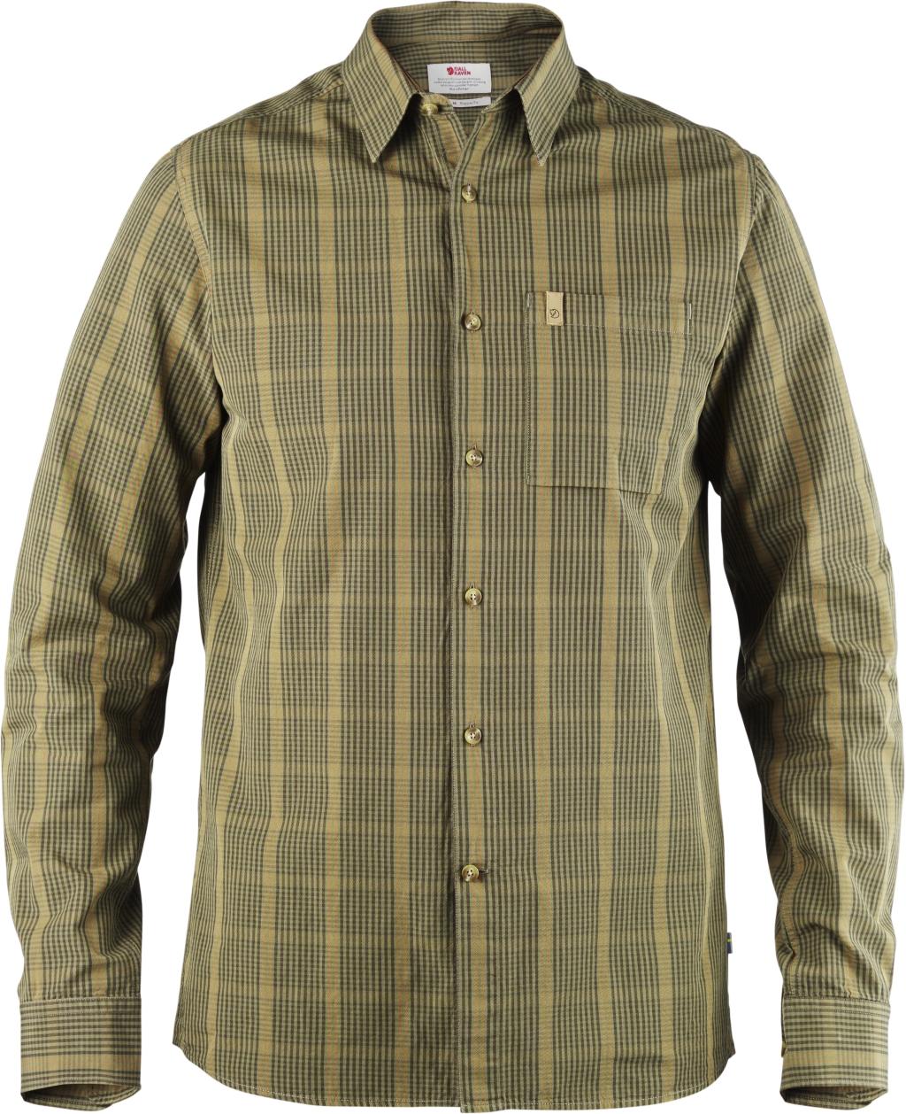 FjallRaven Kiruna Shirt LS Dark Olive-30