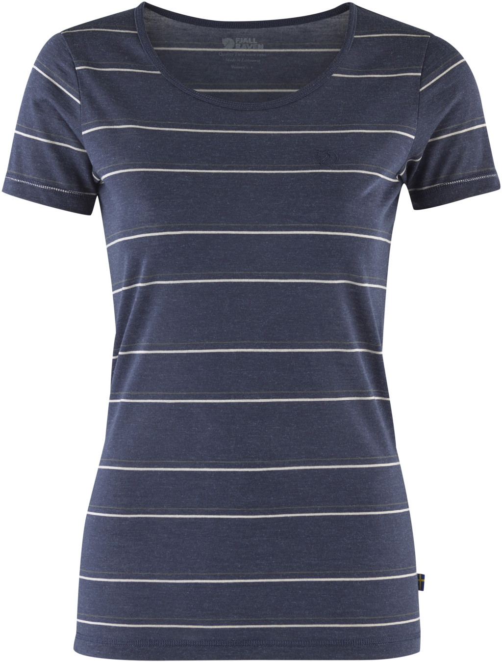 FjallRaven High Coast Stripe T-Shirt W Ash Grey-30