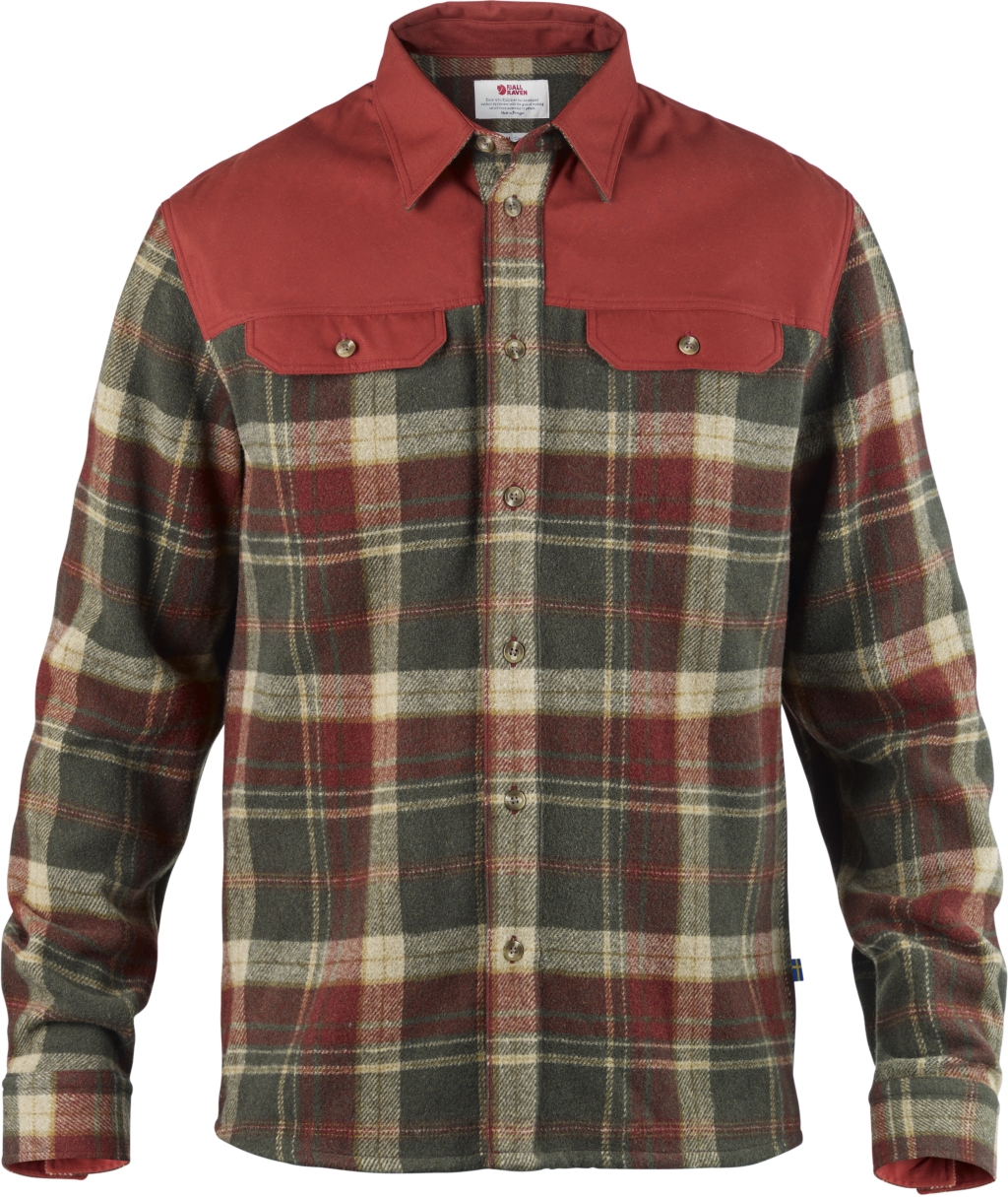 FjallRaven Granit Shirt Deep Red-30