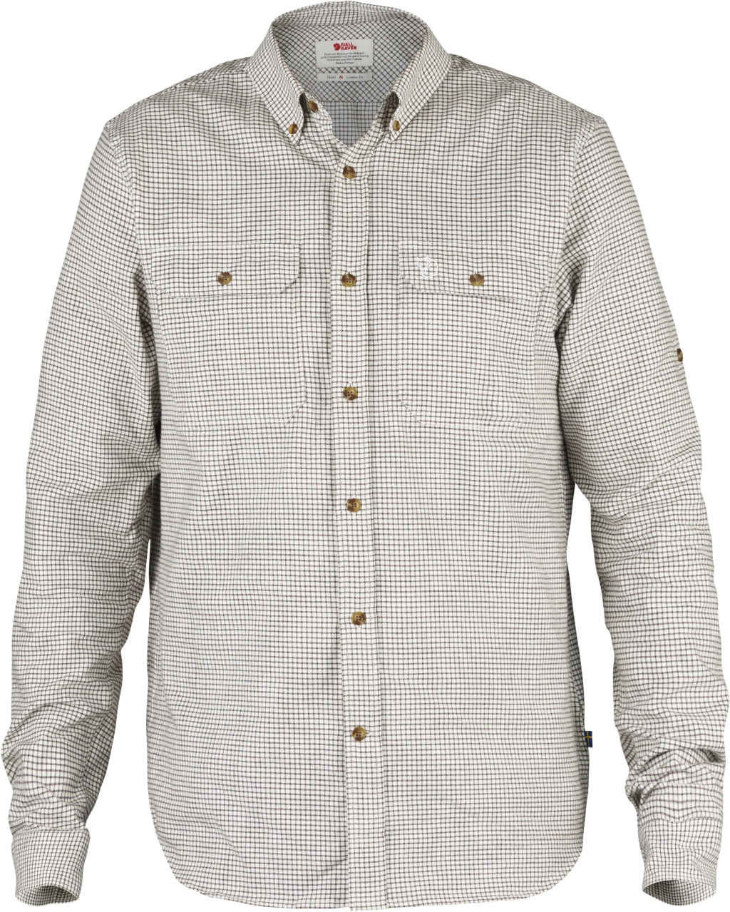 FjallRaven Forest Flannel Shirt Eggshell-30
