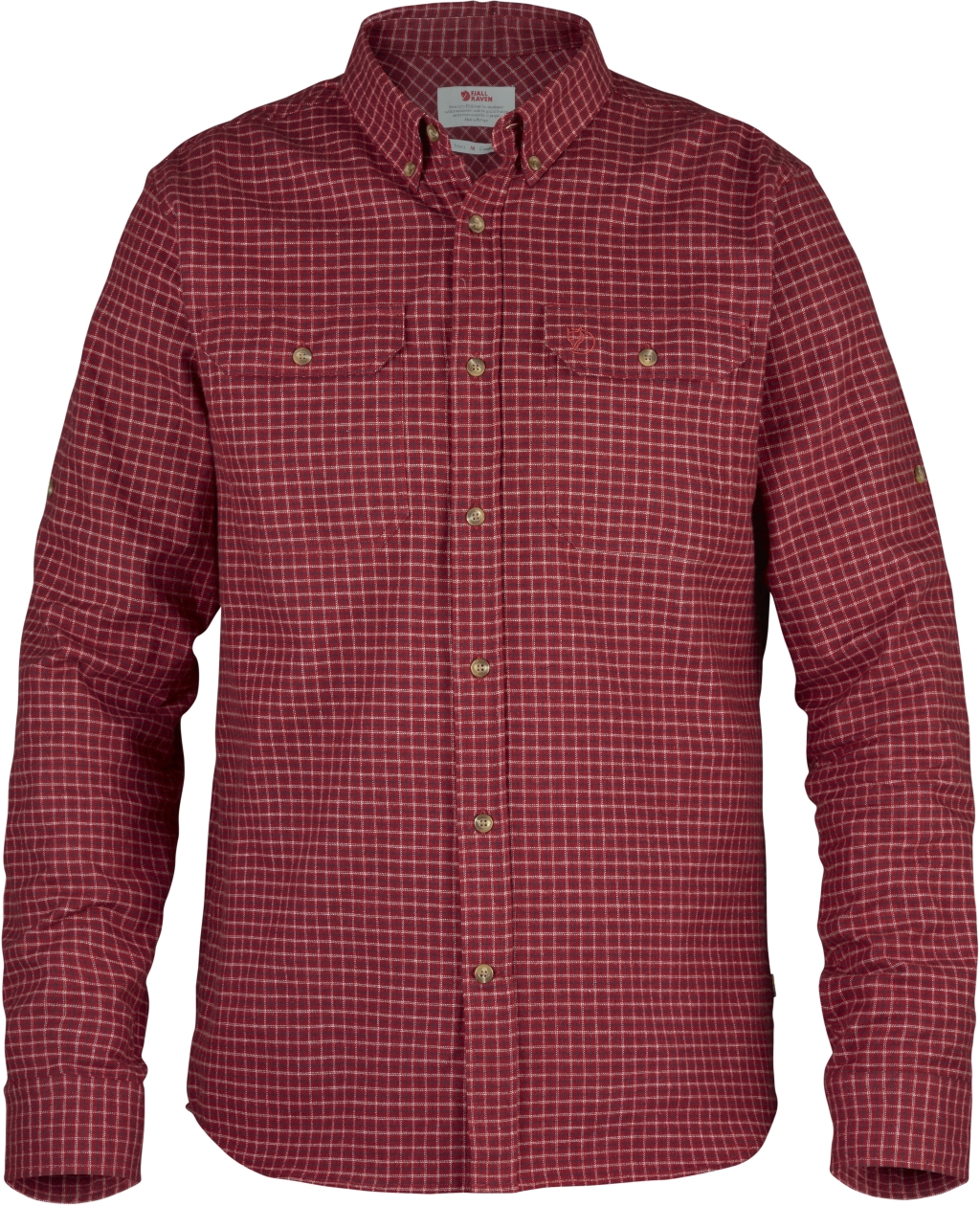 FjallRaven Forest Flannel Shirt Deep Red-30