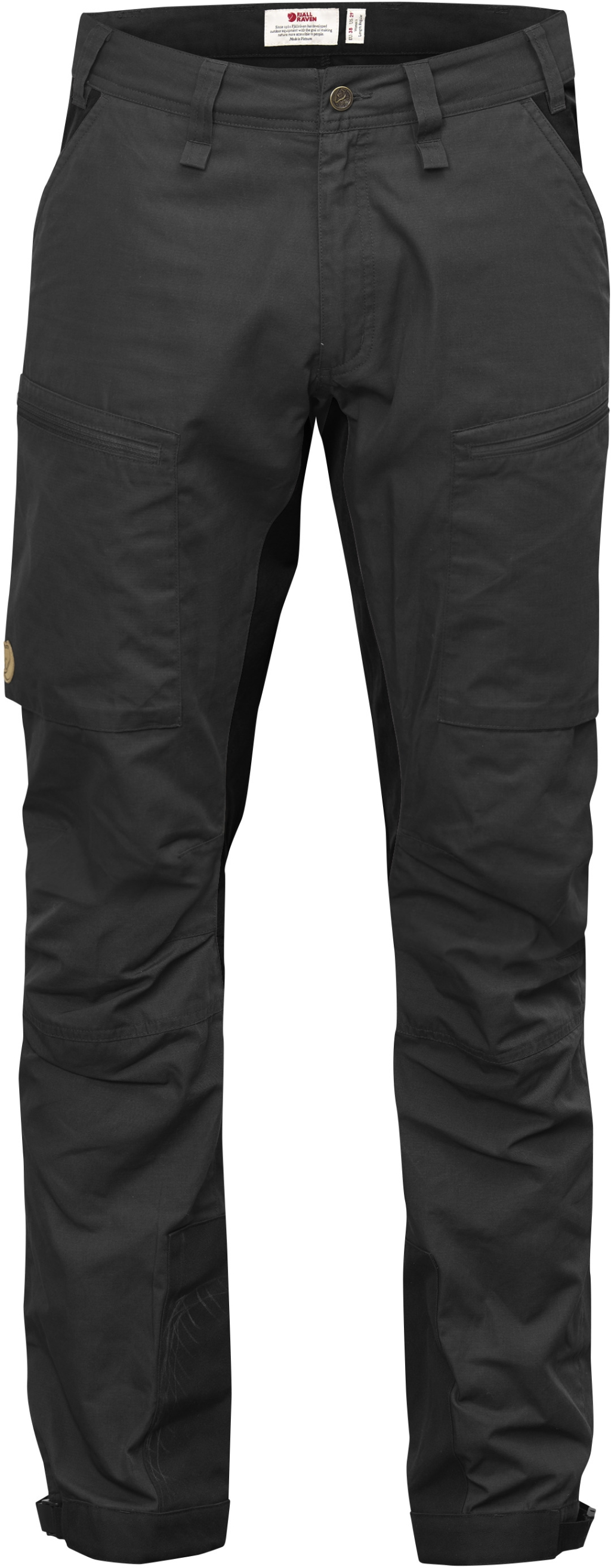 FjallRaven Abisko Lite Trekking Trousers Dark Grey-30