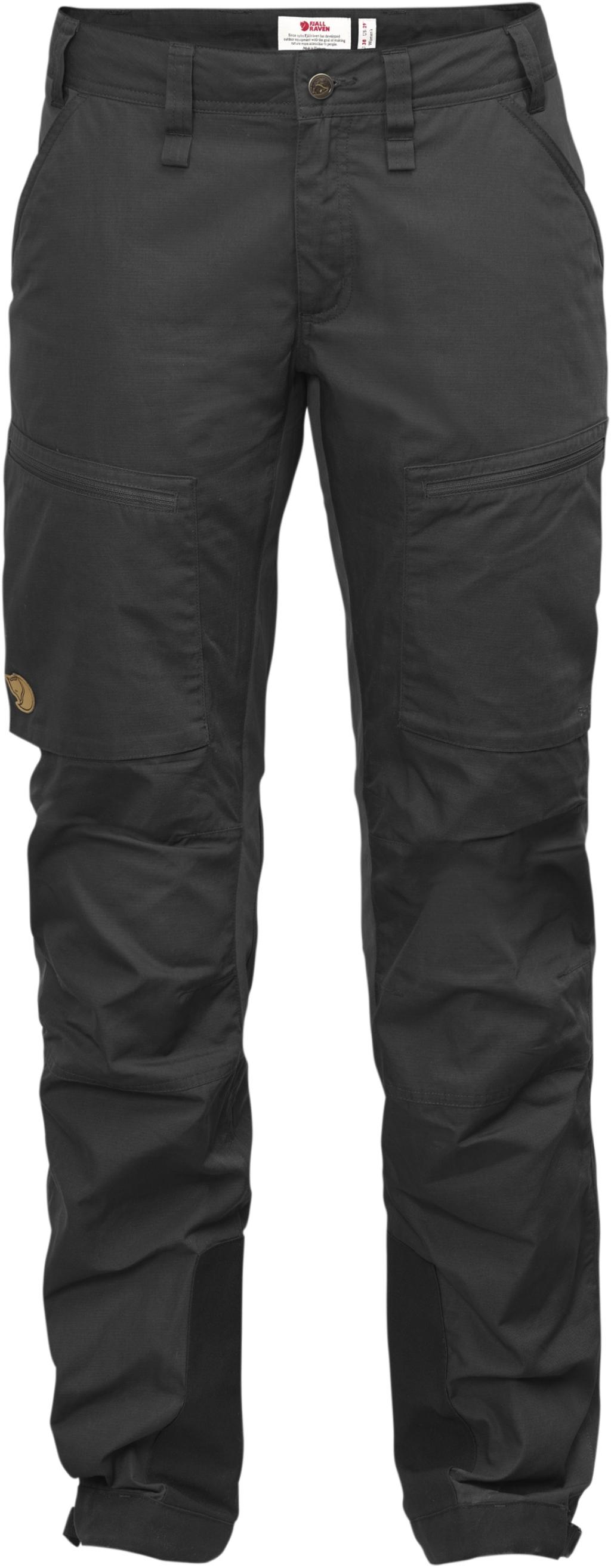 FjallRaven Abisko Lite Trekking Trousers W Dark Grey-30