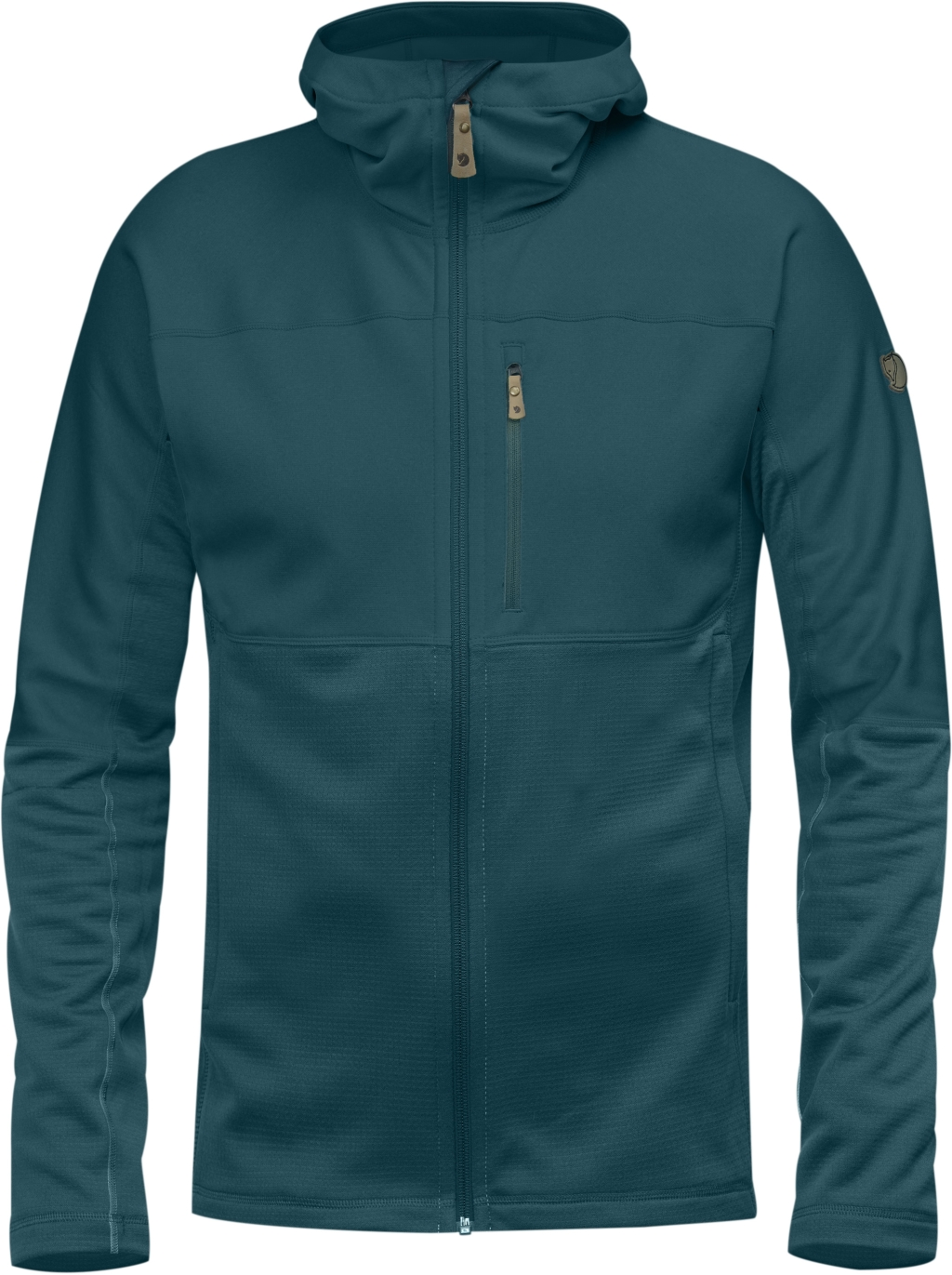 FjallRaven Abisko Trail Fleece Glacier Green-30