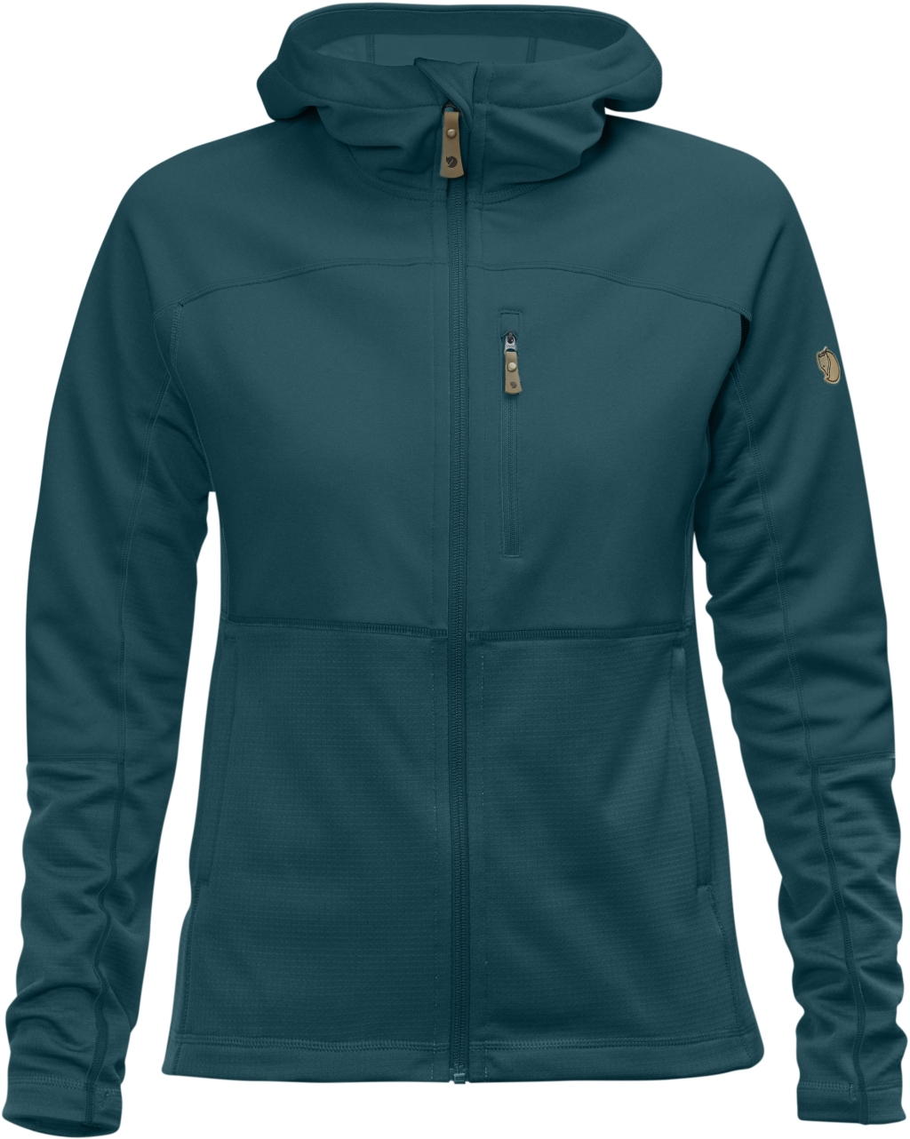FjallRaven Abisko Trail Fleece W Glacier Green-30