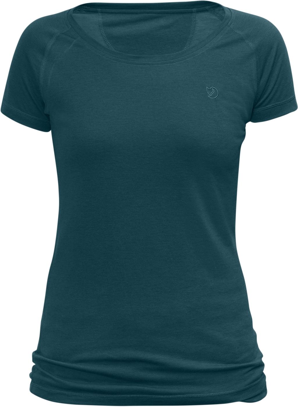 FjallRaven Abisko Trail T-Shirt W Glacier Green-30