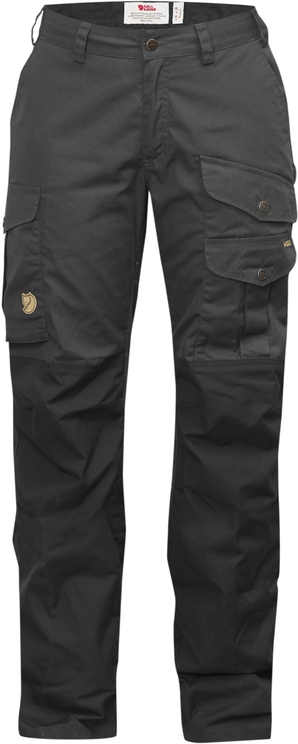 FjallRaven Barents Pro Trousers Curved W Dk Grey-Dk Grey-30
