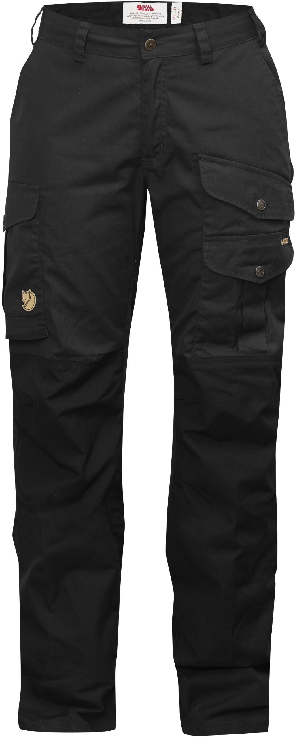 FjallRaven Barents Pro Trousers Curved W Black-Black-30