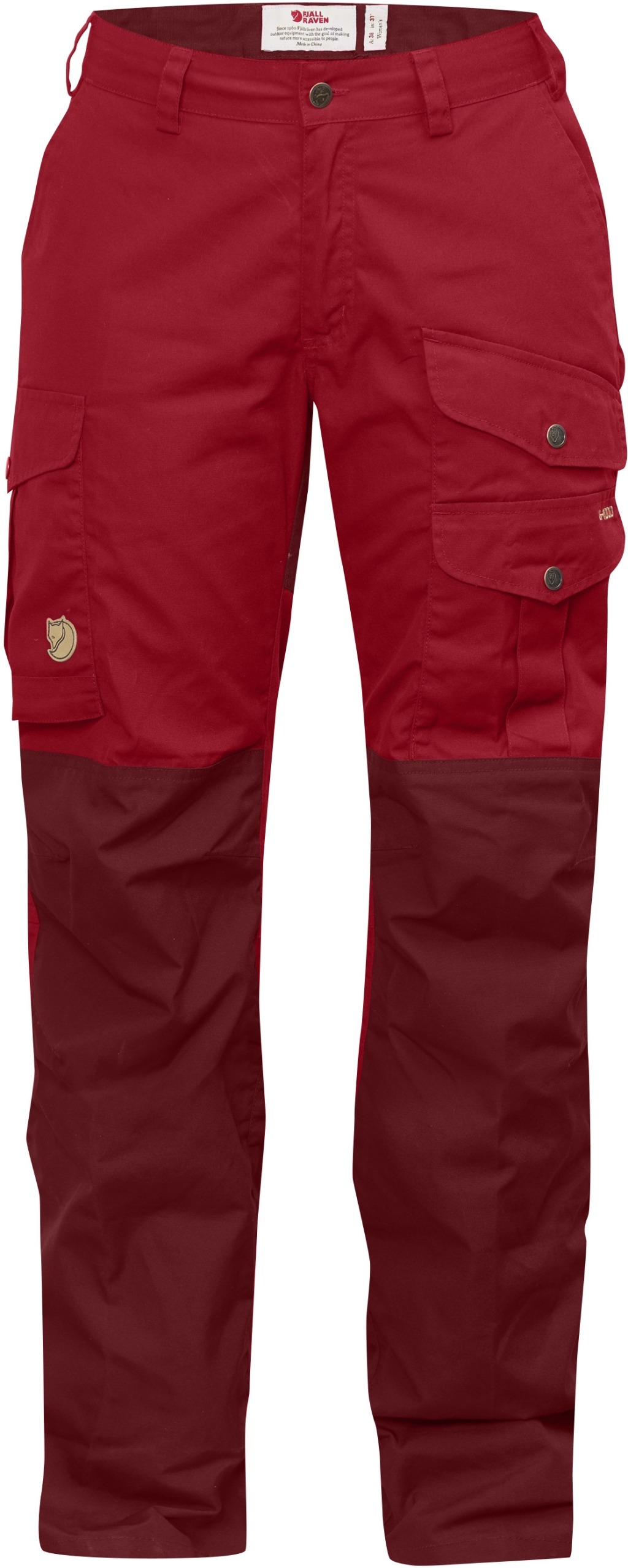 FjallRaven Barents Pro Trousers Curved W Deep Red-30