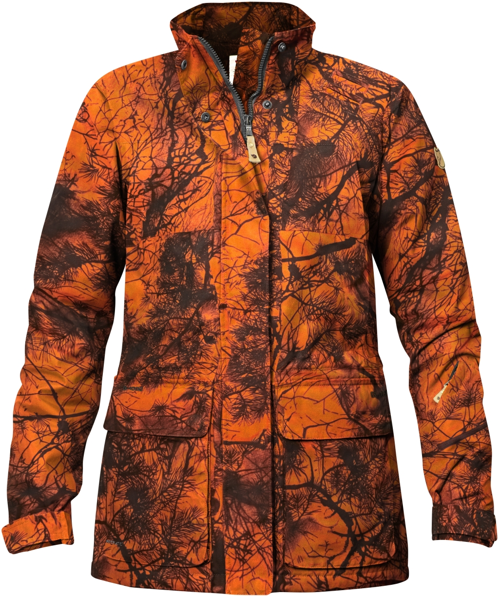FjallRaven Brenner Pro Padded Jacket Camo W Orange Camo-30