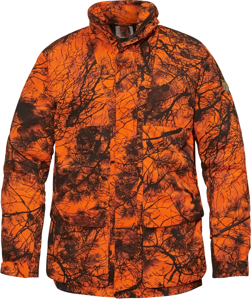 FjallRaven Brenner Pro Padded Jacket Camo Orange Camo-30