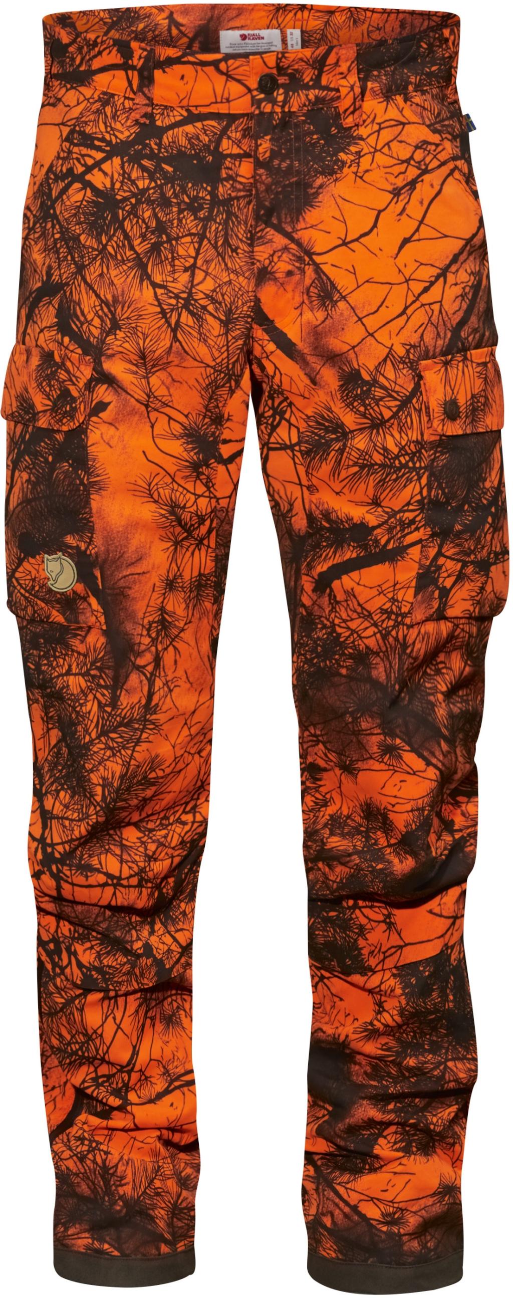 FjallRaven Brenner Pro Winter Trousers Camo Orange Camo-30