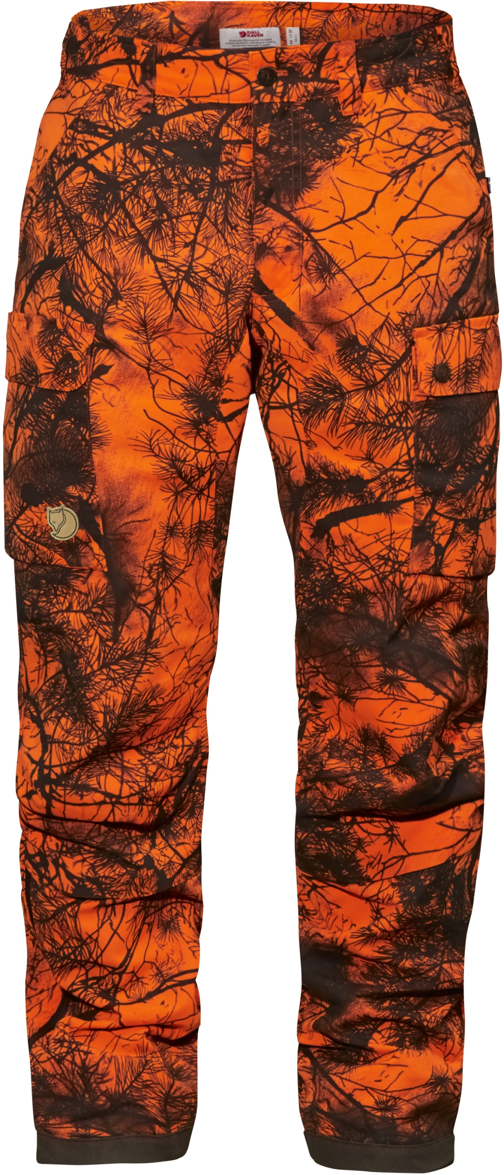 FjallRaven Brenner Pro Winter Trousers Camo W Orange Camo-30