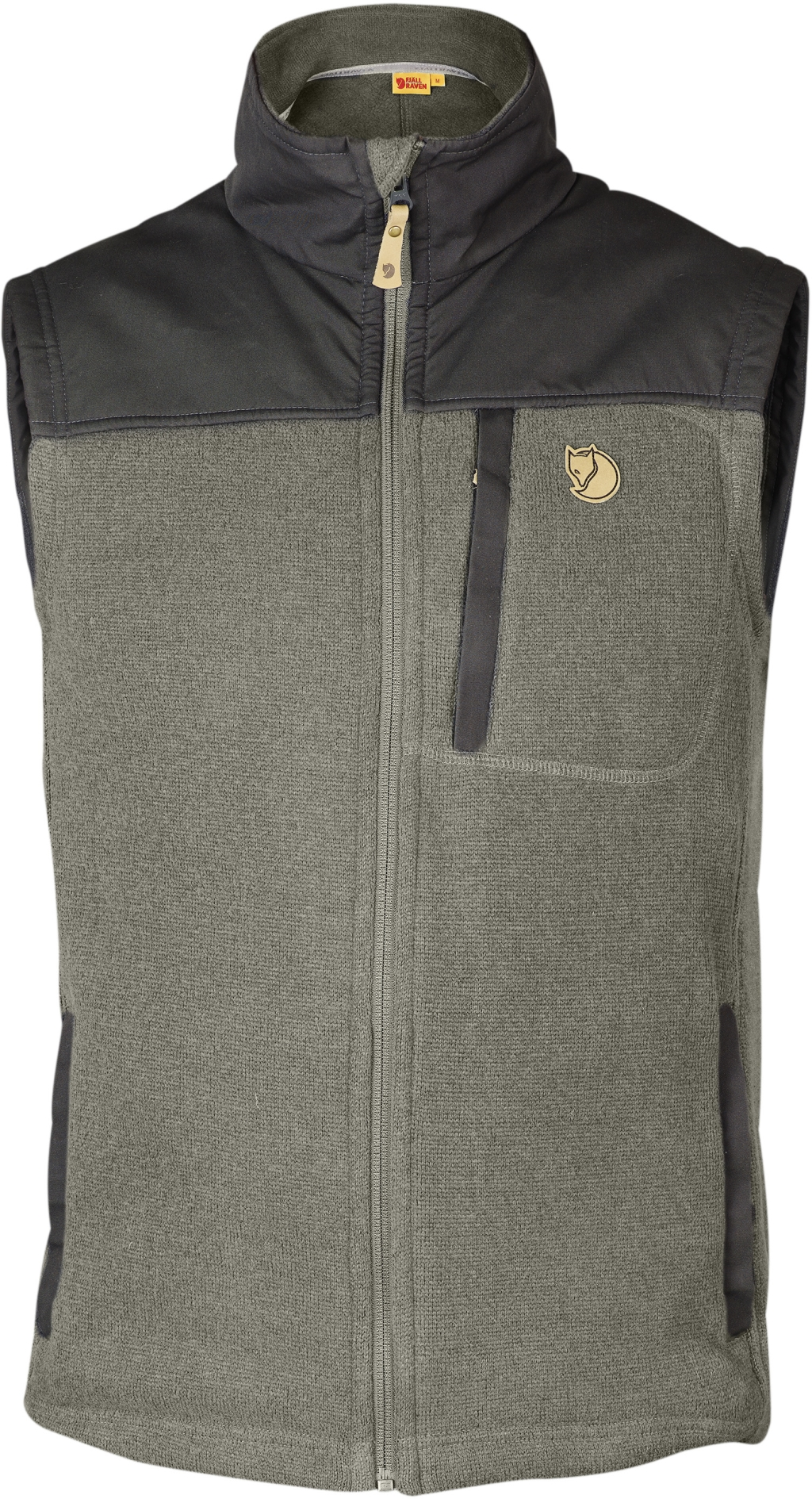 FjallRaven Buck Fleece Vest Fog-30