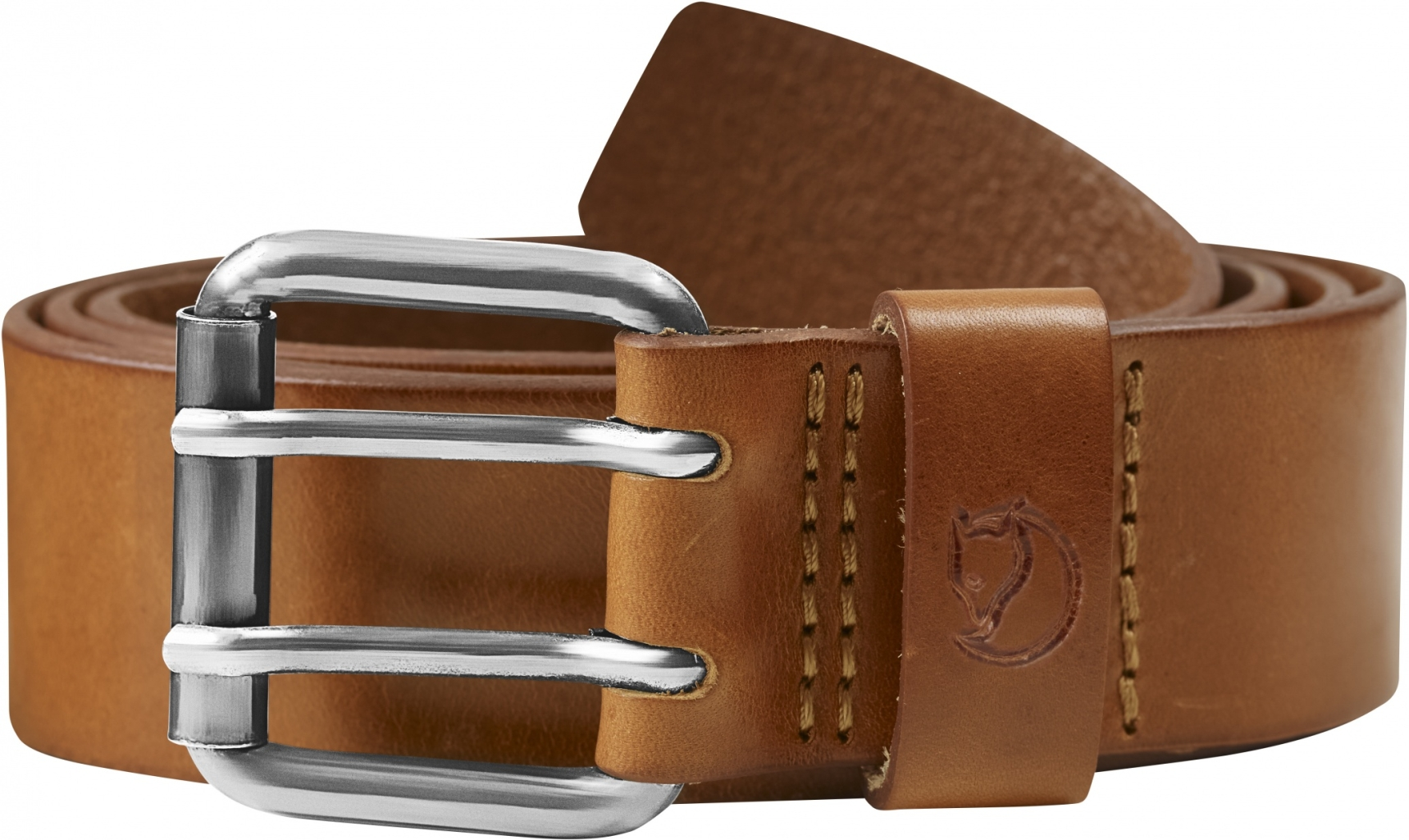 FjallRaven Sarek Two-Pin Belt Leather Cognac-30