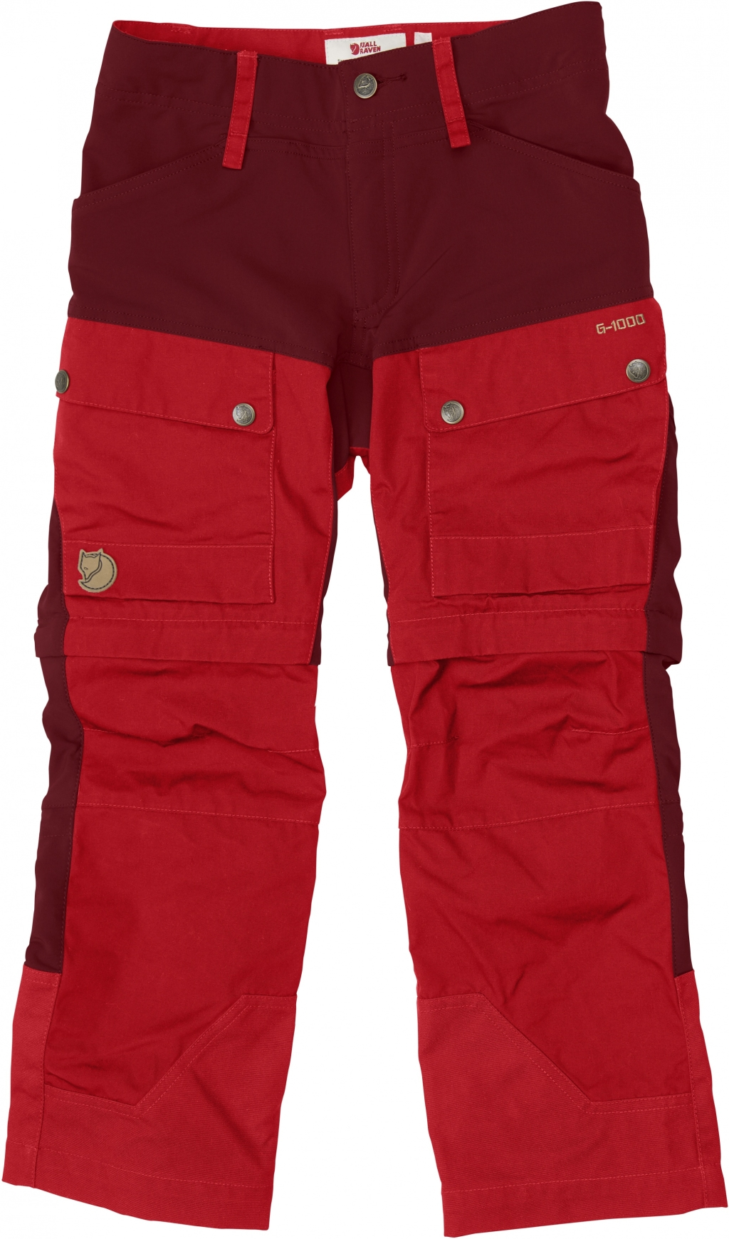 FjallRaven Kids Keb Gaiter Trousers Ox Red-30