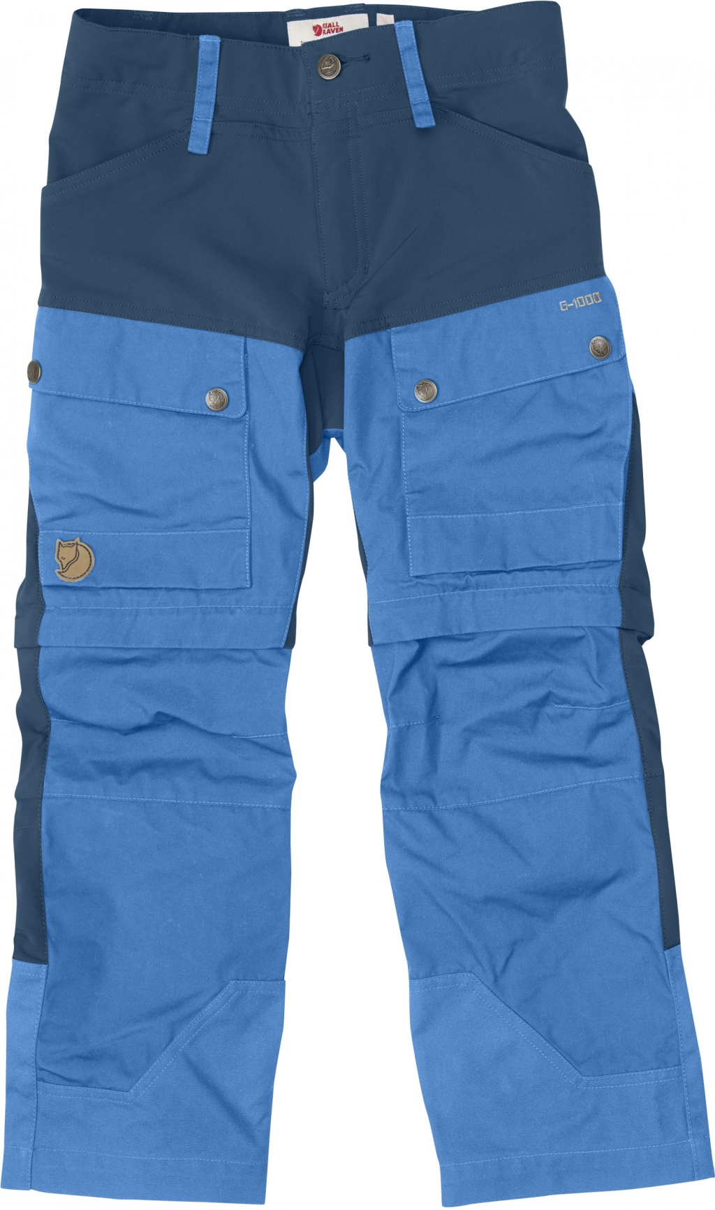 FjallRaven Kids Keb Gaiter Trousers UN Blue-30