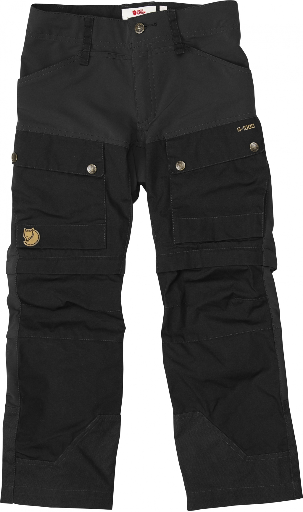 FjallRaven Kids Keb Gaiter Trousers Black-30