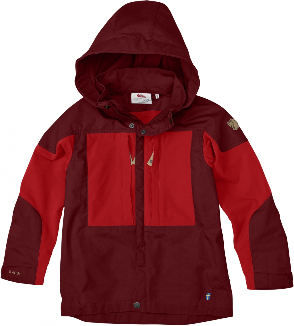 FjallRaven Kids Keb Jacket Ox Red-30