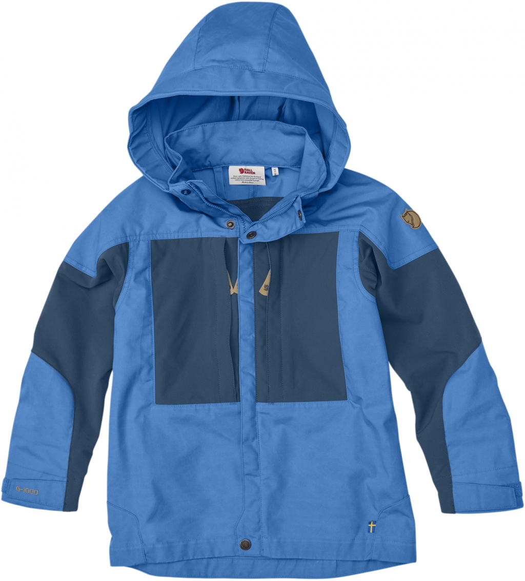 FjallRaven Kids Keb Jacket UN Blue-30