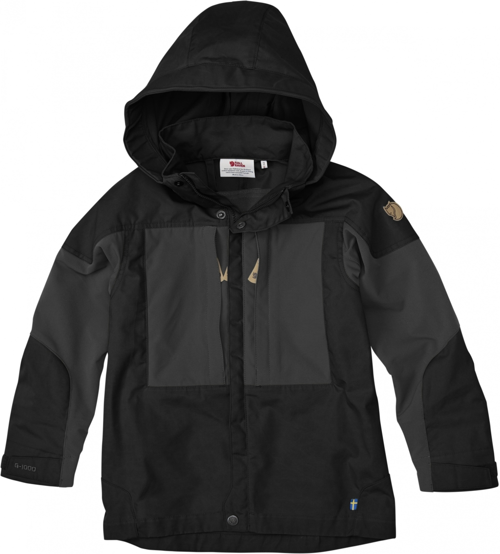 FjallRaven Kids Keb Jacket Black-30