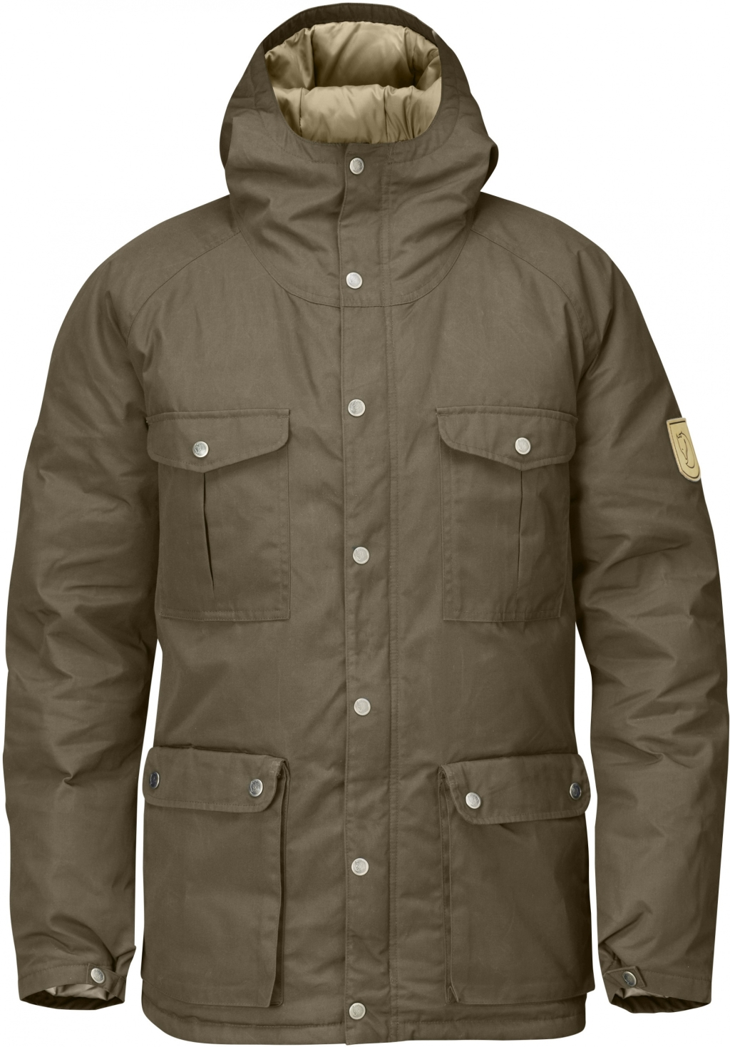 FjallRaven Greenland Down Jacket Taupe-30