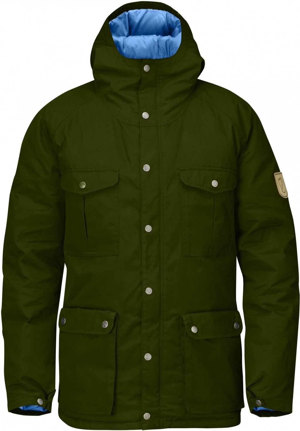 FjallRaven Greenland Down Jacket New Moss-30