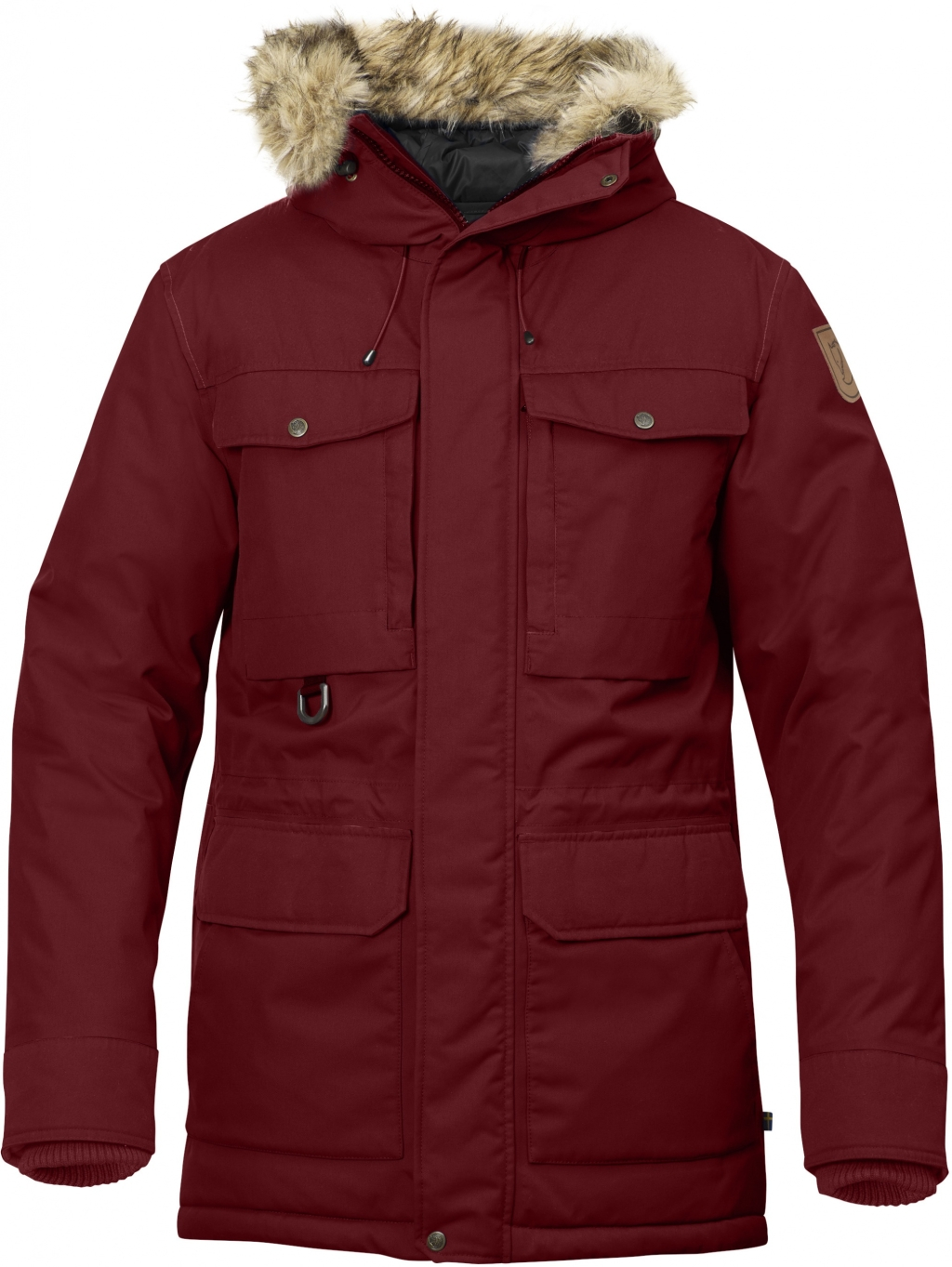FjallRaven Polar Guide Parka Deep Red-30