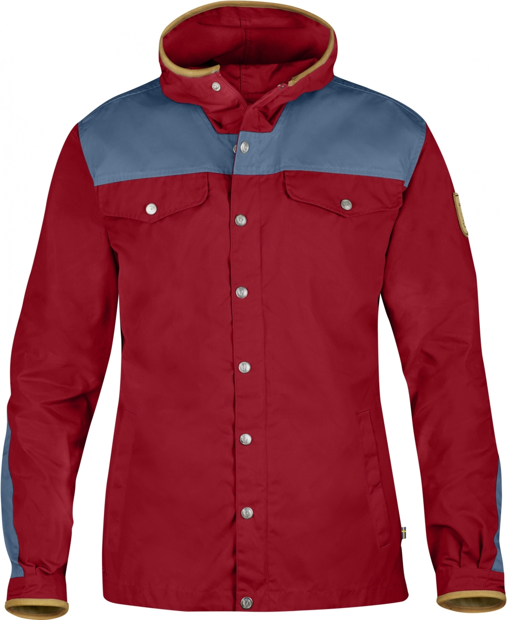 FjallRaven Greenland No. 1 Special Edition Deep Red-Uncle Blue-30
