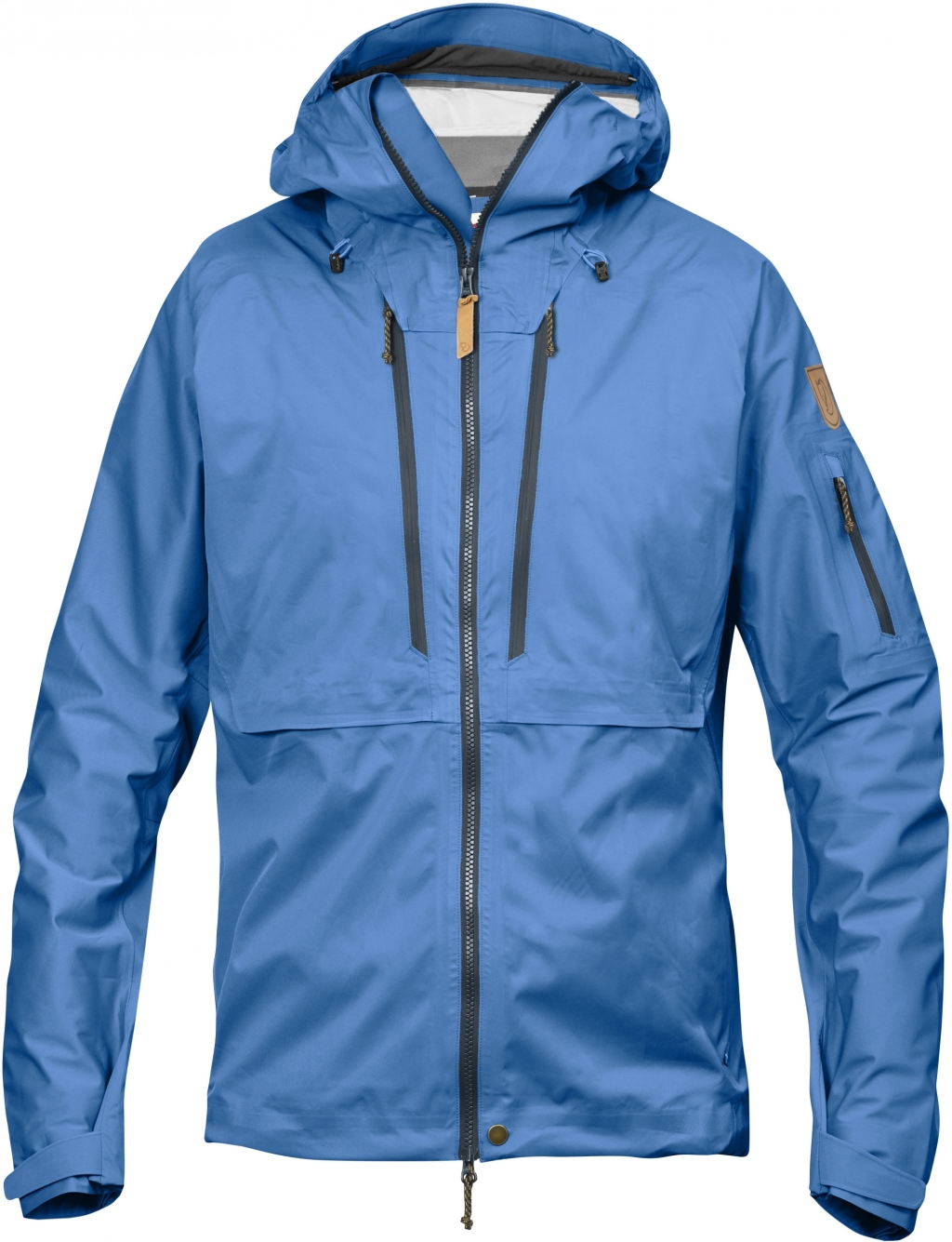FjallRaven Keb Eco-Shell Jacket UN Blue-30