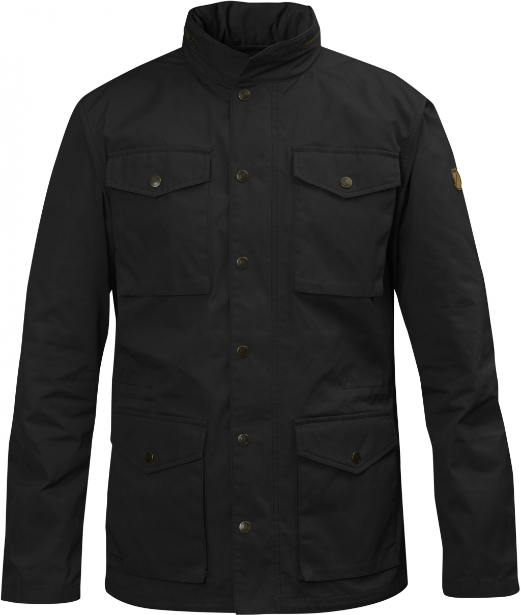 FjallRaven Raven Jacket Black-30