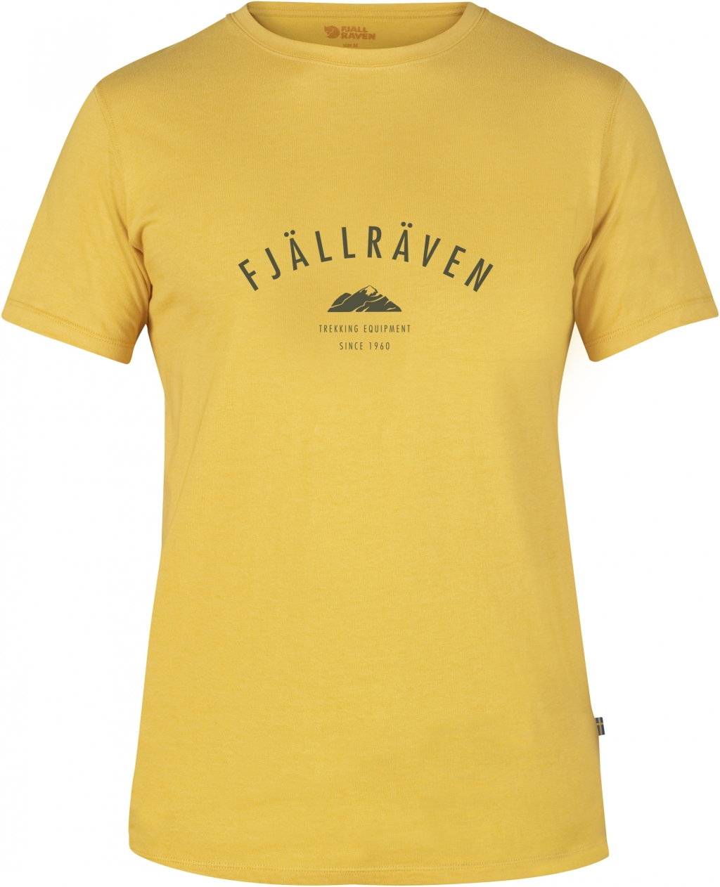 FjallRaven Trekking Equipment T-shirt Ochre-30