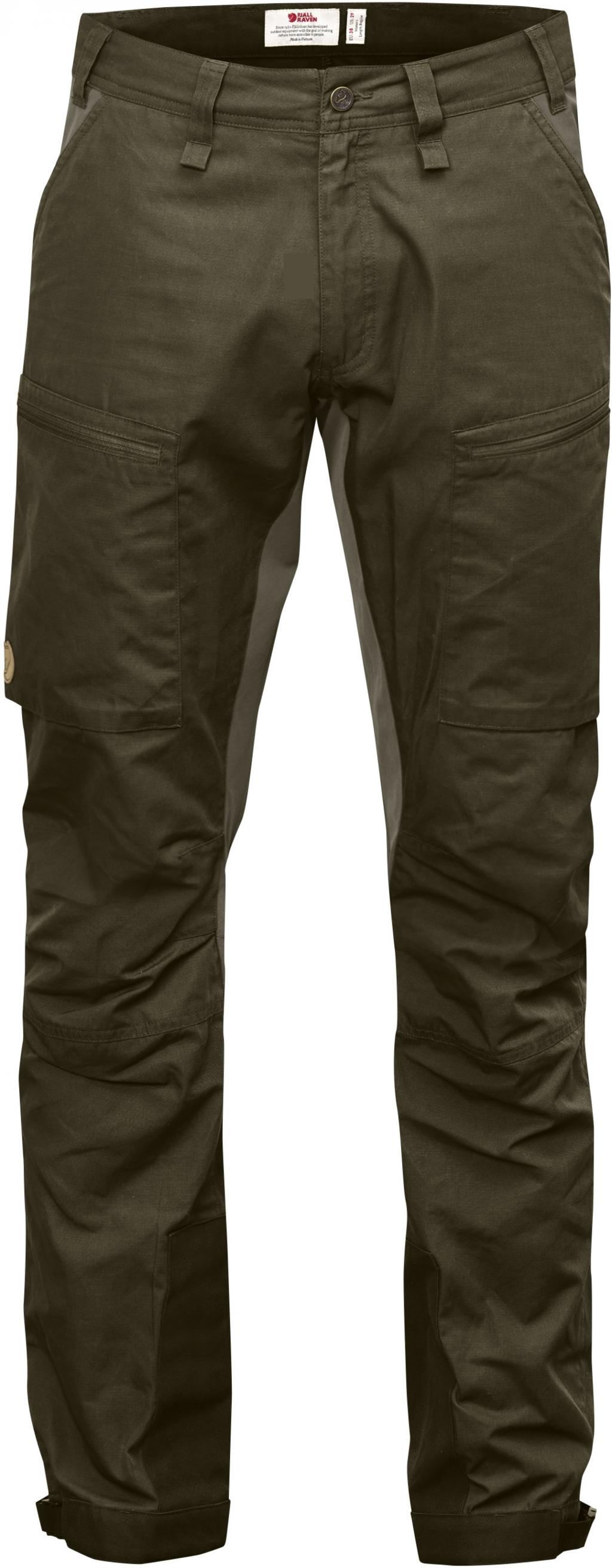 FjallRaven Abisko Lite Trekking Trousers Dark Olive-30
