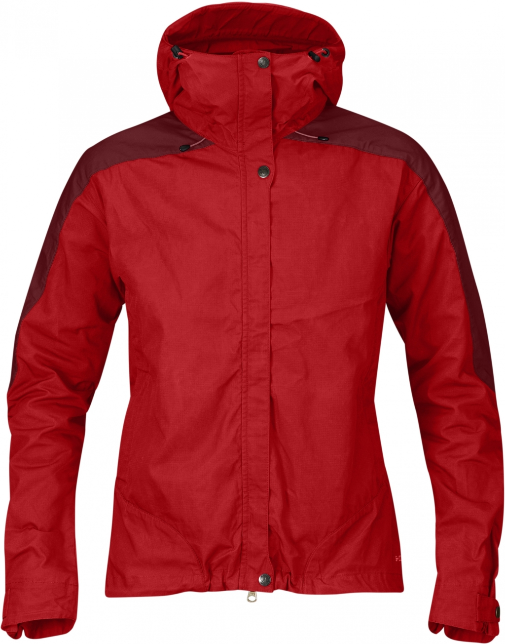 FjallRaven Skogso Jacket Women Red-Ox Red-30