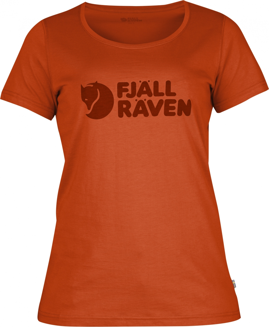 FjallRaven Logo T-Shirt W. Flame Orange-30
